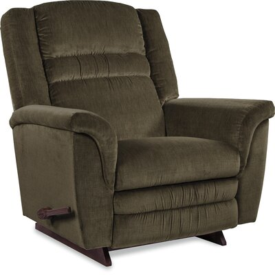 Sequoia Manual Recliner Upholstery: Moss, Motion Type: Rocker