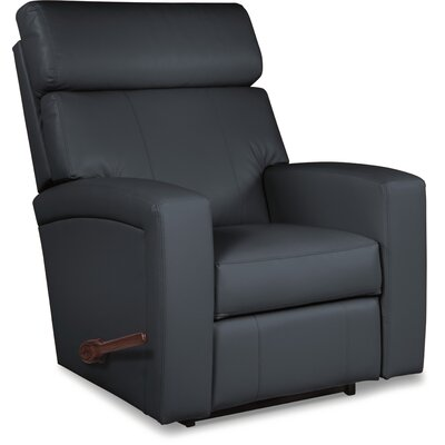 Agent Rocker Recliner Upholstery: Navy, Reclining Type: Manual Recline