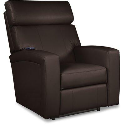 Agent Rocker Recliner Upholstery: Brown, Reclining Type: Power Recline