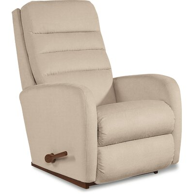 Forum Recliner Upholstery: Grey, Reclining Type: Power-Remote-Headrest & Lumbar, Motion Type: Rocker