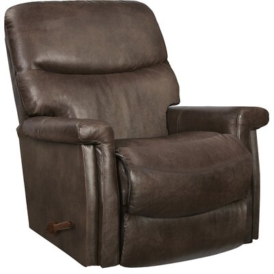 Baylor XR+ Reclina-Rocker� Recliner Upholstery: Mushroom, Reclining Type: Manual Recline, Motion Type: Rocker