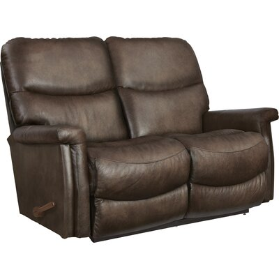Baylor Leather Reclining Loveseat