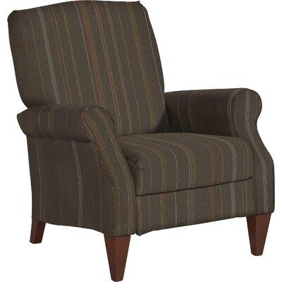 Charlotte 2 Position Mechanism Recliner Upholstery: Stone