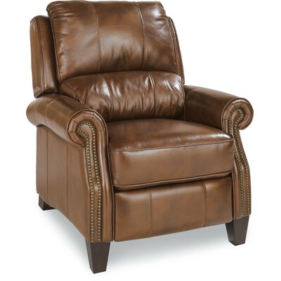 Tarleton Leather Manual Recliner Upholstery: Walnut