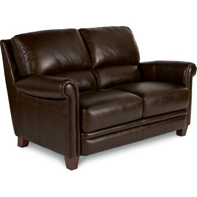 Julius Leather Loveseat