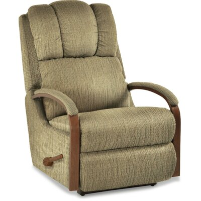 Harbor Town Recliner Upholstery: Chamois, Reclining Type: Power-Button, Motion Type: Wall Hugger