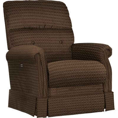 Amelia Wall Hugger Recliner Upholstery: Saddle, Reclining Type: Manual Recline, Motion Type: Wall Hugger