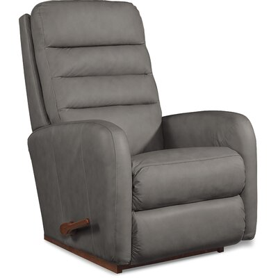 Forum Rocker Recliner Upholstery: Gray