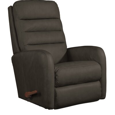 Forum Recliner Upholstery: Grand Slam Coffee, Reclining Type: Manual, Motion Type: Wall Hugger