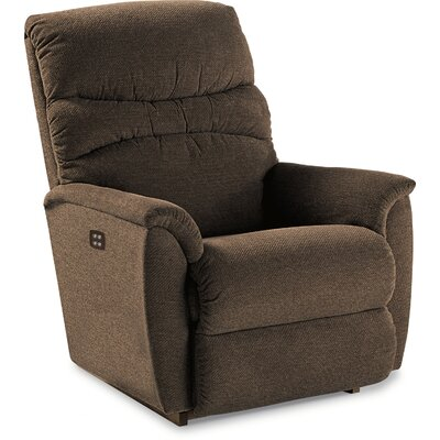 Coleman Reclina-Rocker��Recliner Type: Power, Upholstery: Shona Pebble