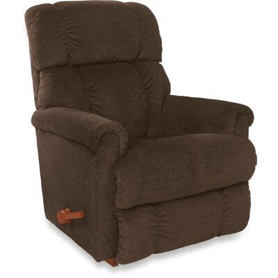 Pinnacle Rocker��Recliner Upholstery: Chex Peacock