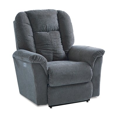Jasper Power XRw� Reclina Way� Recliner Upholstery: Chex Peacock