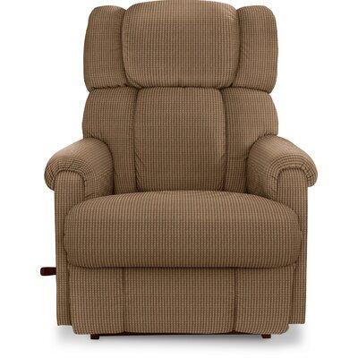 Pinnacle Recliner Upholstery: Brown Sugar