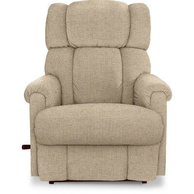 Pinnacle�Recliner Upholstery: Cream, Reclining Type: Power, Motion Type: Wall Hugger