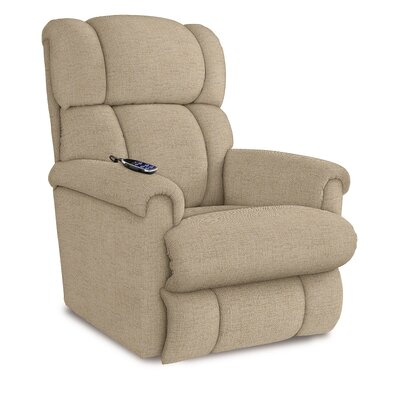 Pinnacle Recliner Upholstery: Cream