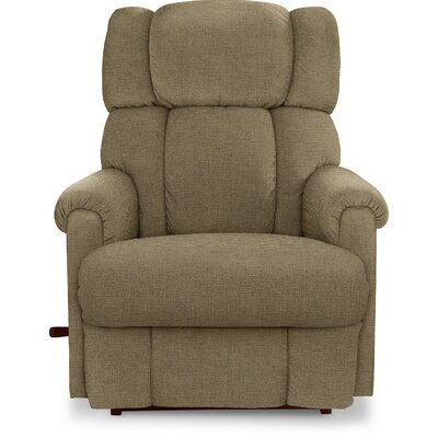 Pinnacle�Recliner Upholstery: Sage, Reclining Type: Power, Motion Type: Wall Hugger