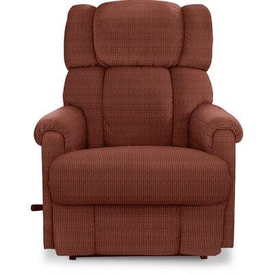 Pinnacle�Recliner Upholstery: Brown, Reclining Type: Power, Motion Type: Rocker