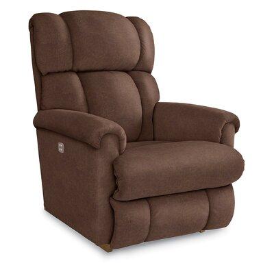 Pinnacle Recliner Upholstery: Silt