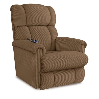 Pinnacle Recliner Upholstery: Brown Sugar