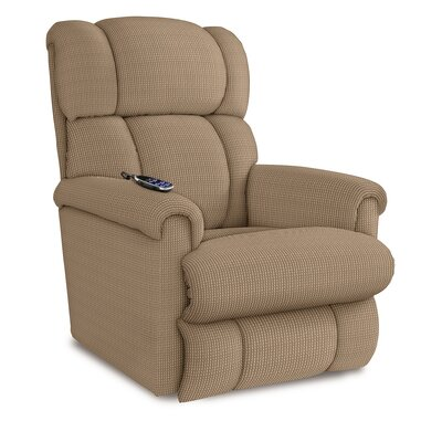 Pinnacle Recliner Upholstery: Camel