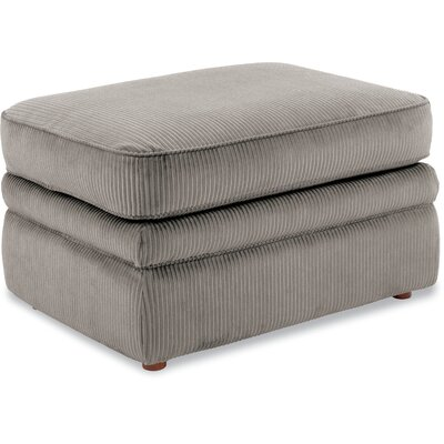 Collins Premier Ottoman Upholstery: Silver