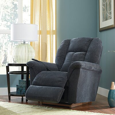 Jasper Power XR Reclina Rocker� Recliner Upholstery: Upside Down Navy