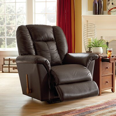 Jasper Reclina Rocker� Recliner Upholstery: Shona Burgundy