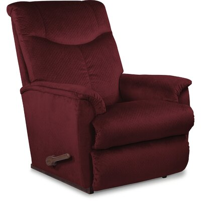 Hunter Reclina Rocker Recliner Upholstery: Merlot