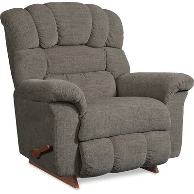 Crandell Reclina Rocker Recliner Upholstery: Storm