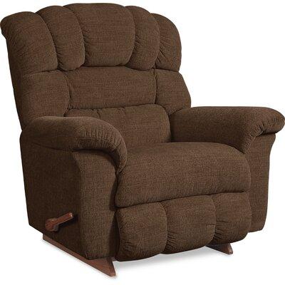 Crandell Reclina Rocker Recliner Upholstery: Mocha