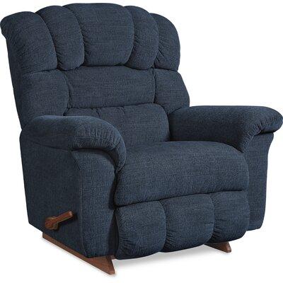 Crandell Reclina Rocker Recliner Upholstery: Navy