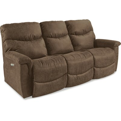 James La-Z-Time� Power-Recline with Power Headrest Full Reclining Sofa