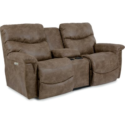 James La-Z-Time� Power-Recline with Power Headrest Loveseat