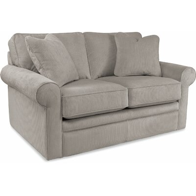 Collins Premier Loveseat Upholstery: Silver