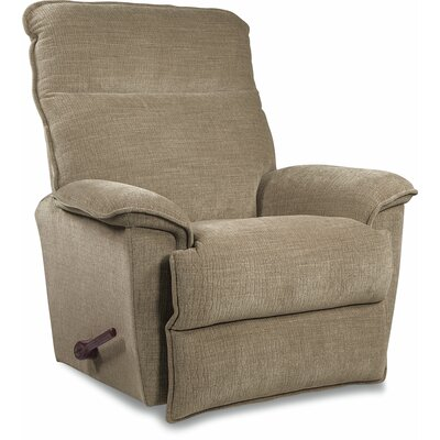 Jay Reclina-Way� Manual Recliner Upholstery: Barley, Color: Brown Mahogany, Motion Type: Rocker