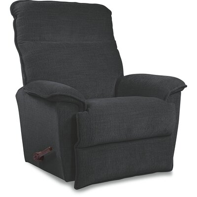 Jay Reclina-Way� Manual Recliner Upholstery: Denim, Color: Brown Mahogany, Motion Type: Rocker