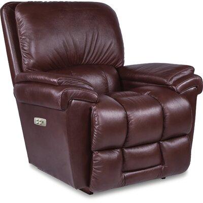 Melrose Rocker Recliner Upholstery: Burgundy, Reclining Type: Power-Button