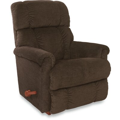Pinnacle Reclina Rocker Recliner Color: Brown, Upholstery: Granite, Reclining Type: Power Reclining- Push Button
