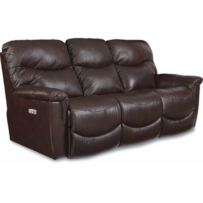 James LA-Z-TIME� POWER-RECLINE Sofa with Power Headrest