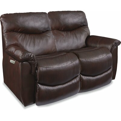 James LA-Z-TIME� POWER-RECLINE Loveseat with Power Headrest