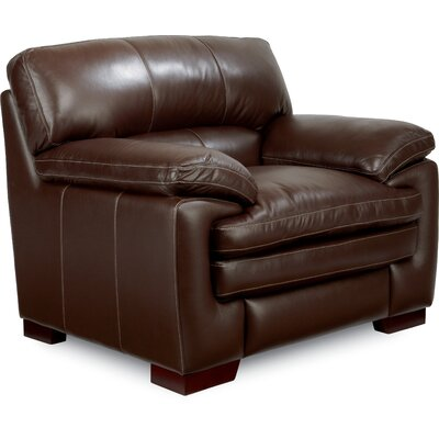 Dexter Club Armchair Upholstery: Chocolate