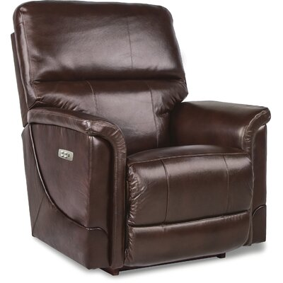 Oscar Recliner Upholstery: Chocolate, Reclining Type: Power - Push Button