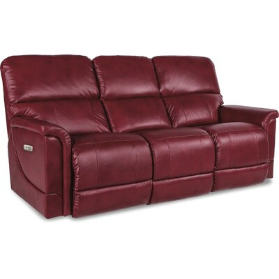 Oscar Power Full Reclining Sofa Upholstery: Crimson