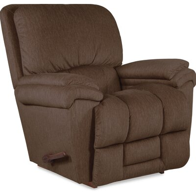 Melrose Recliner Upholstery: Chocolate, Reclining Type: Manual, Motion Type: Rocker