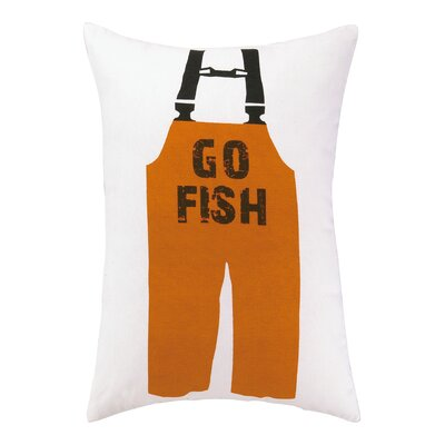 Go Fish Indoor / Outdoor Lumbar Pillow