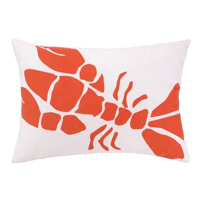 Lobster Lumbar Pillow