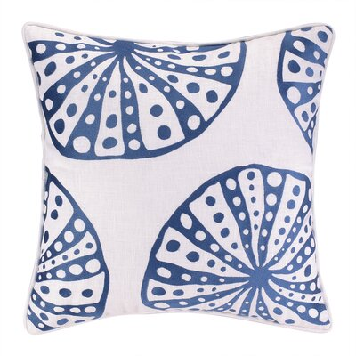 Urchins Embroidered Throw Pillow