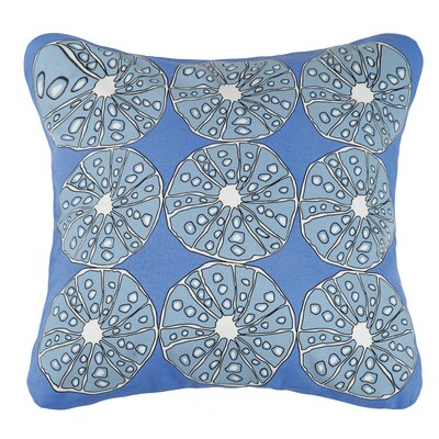 Urchins Cotton Throw Pillow