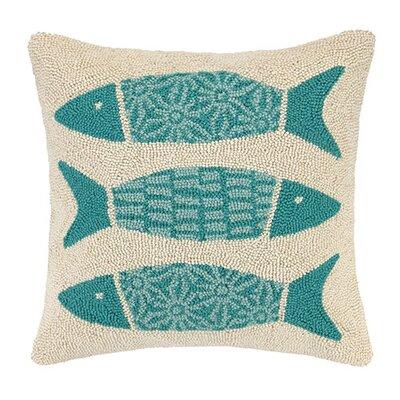 Pattern Fish Cotton Throw Pillow 30KN41C20SQ
