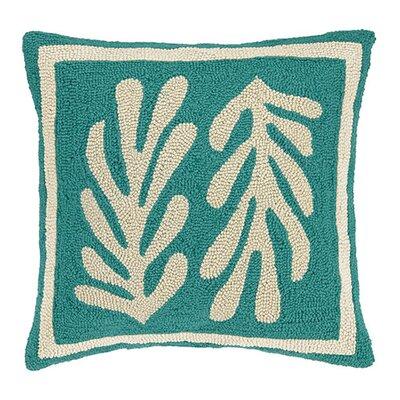 Seaweed Cotton Throw Pillow